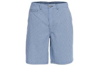 Trespass Mens Quantum Casual Shorts (Navy Check) (S)