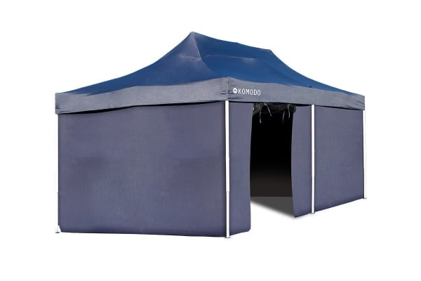 Komodo Premium 3m x 6m Pop Up Gazebo Marquee