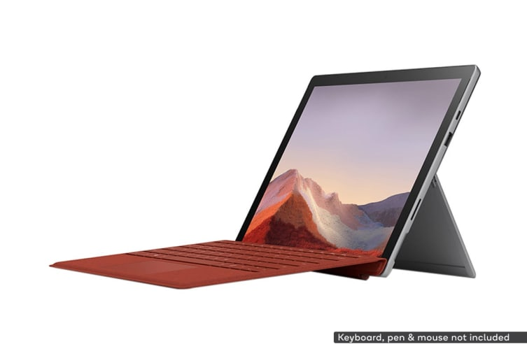Microsoft Surface Pro 7 (i5, 8GB RAM, 128GB SSD, Platinum) - AU/NZ Model