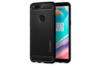 Spigen OnePlus 5T Rugged Armor Case Black