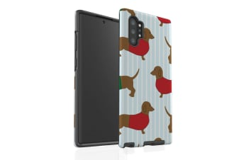 For Samsung Galaxy Note 10+ Plus Case  Armour Tough Cover  Dachshunds