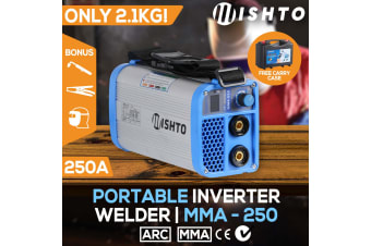 Utra-Portable 250Amp Inverter Welder MMA ARC Stick Welding Machine DC iGBT