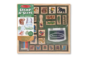 Melissa & Doug Rain Forest Stamp Set