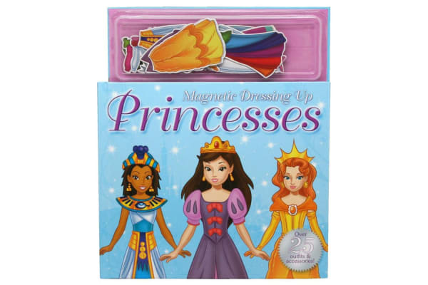 Dressing Up Princesses Magnetic Story and Play Book