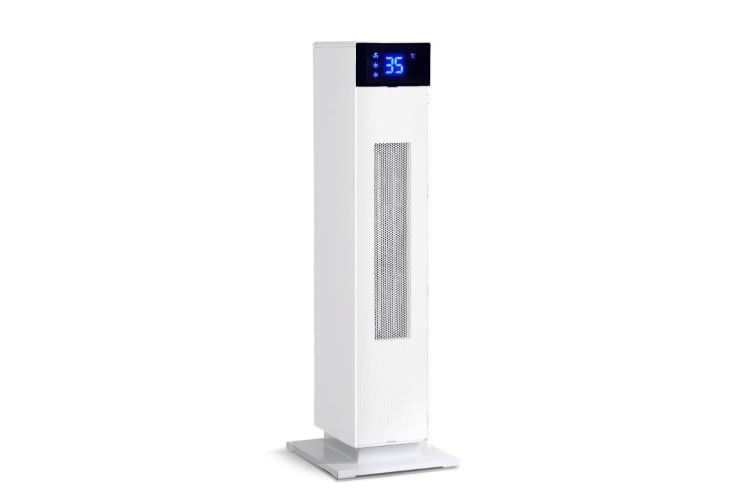 Spector 2200W Electric Ceramic Tower  Heater Portable Oscillating Remote White
