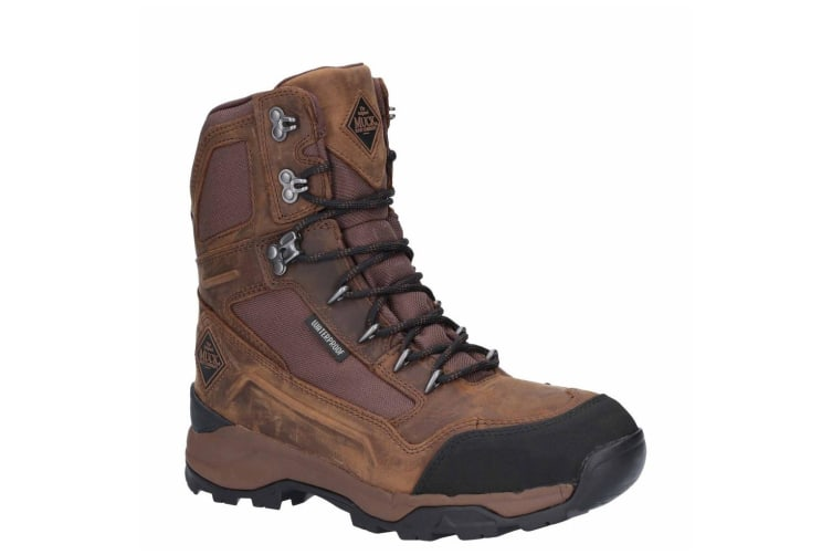 Muck Boots Mens Summit 8in Performance Leather Hiking Boots (Brown) (7 UK)