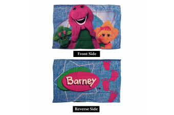 One Piece of The Wiggles Barney Standard Pillowcase