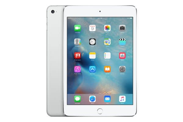Apple iPad Mini 4 (16GB, Cellular, Silver)