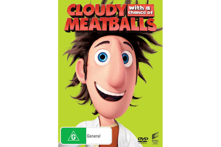 Cloudy With a Chance of Meatballs DVD Region 4