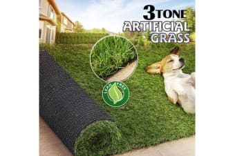 20 SQM Synthetic Turf Artificial Grass 3 TONE 40mm