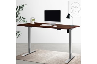Artiss Standing Desk Motorised Electric Height Adjustable Sit Stand Table Office 140cm