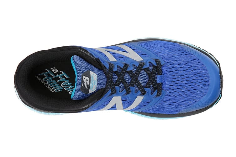 New Balance Men's Fresh Foam 1080v8 - 2E Running Shoe (Blue/White, Size 7.5)