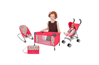 Maclaren Deluxe Kids Activity Set dolls Pram Chiclets