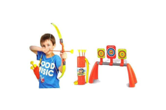 Kids Archery Set with Knock Down Target