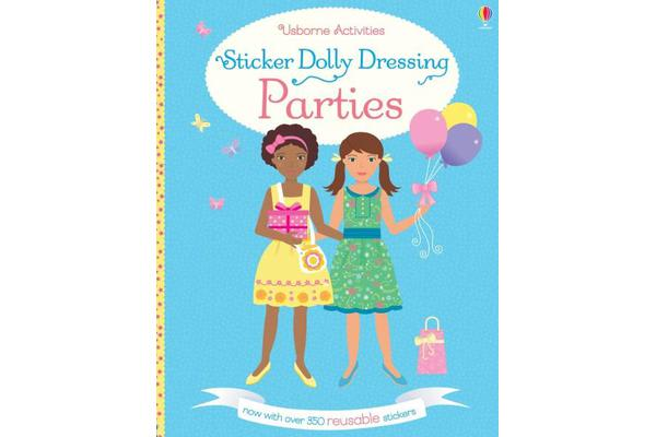 Image of Sticker Dolly Dressing Parties