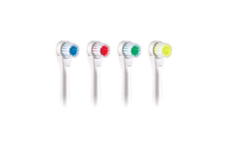 Maxim TBMR 4pcs Electric Toothbrush Replacement 4 Colour Brush Heads for TBM