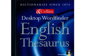 Collins Desktop Wordfinder English Thesaurus