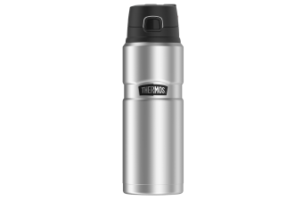 Thermos King Travel Bottle 710ml - Silver