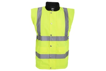 RTY High Visibility Unisex High Vis Bodywarmer (Fluorescent Yellow)
