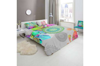 Hip Xandine Quilt Cover Set Queen