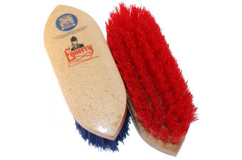 Equerry Dandy Brush (Red)
