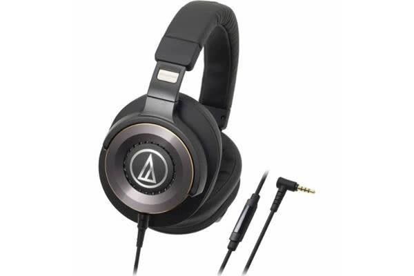 Audio-Technica ATHWS1100IS Premium Over Ear Solid Bass Hands Free