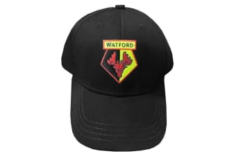 Watford Core Baseball Cap (Black) (One Size)