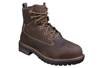 Timberland Pro Womens/Ladies Hightower Lace Up Safety Boots (Coffee) (8 UK)