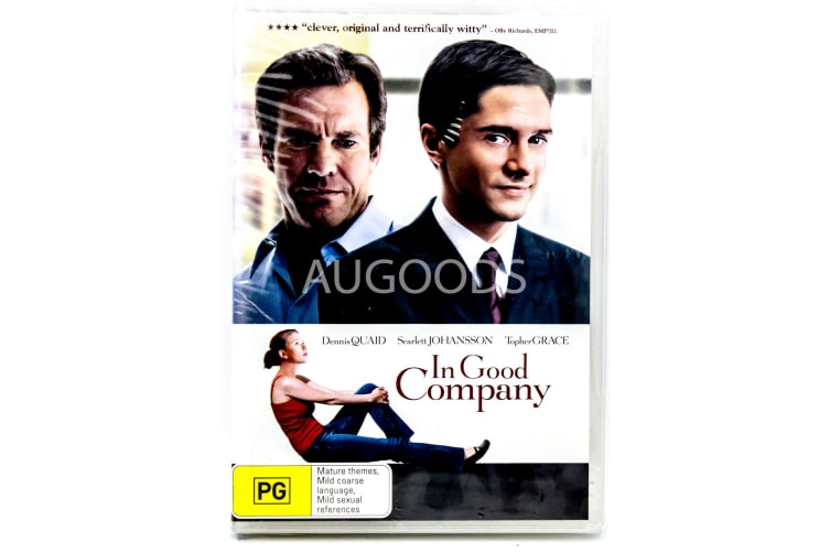 In Good Company - Region 4 Rare- Aus Stock DVD PREOWNED: DISC LIKE NEW