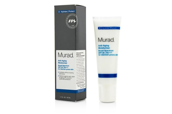 Murad Anti Aging Moisturizer SPF30 PA+++ - For Blemish-Prone Skin (50ml/1.7oz)