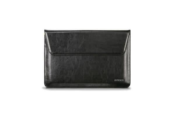 Maroo Carrying Case Sleeve for iPad Pro - Leather - Black