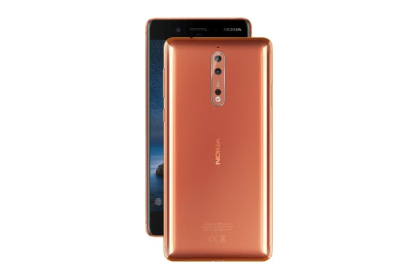Nokia 8 (64GB, Polished Copper)