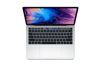 "Apple 13"" MacBook Pro with Touch Bar (2.3Ghz i5, 8GB RAM, 256GB SSD, Silver) - MR9U2LL/A"