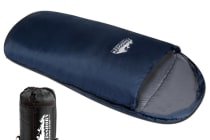 Pebble Shape Thermal Sleeping Bag 190 x 100cm (Navy)