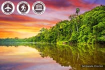SOUTH AMERICA: 12 Day Amazon Jungle Tour Including Flights for Two