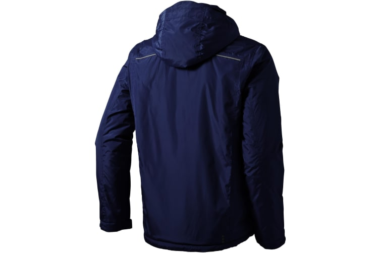 Elevate Mens Smithers Fleece Lined Jacket (Navy) (XS)