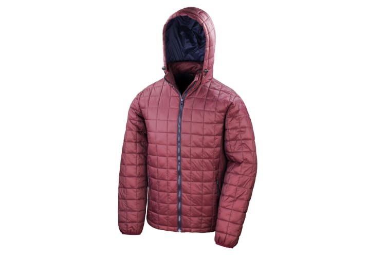 Result Adults Unisex Urban Outdoor Blizzard Jacket (Ruby/Navy) (3XL)