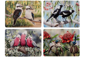 Ashdene Australian Bird and Flora Placemat Set of 4