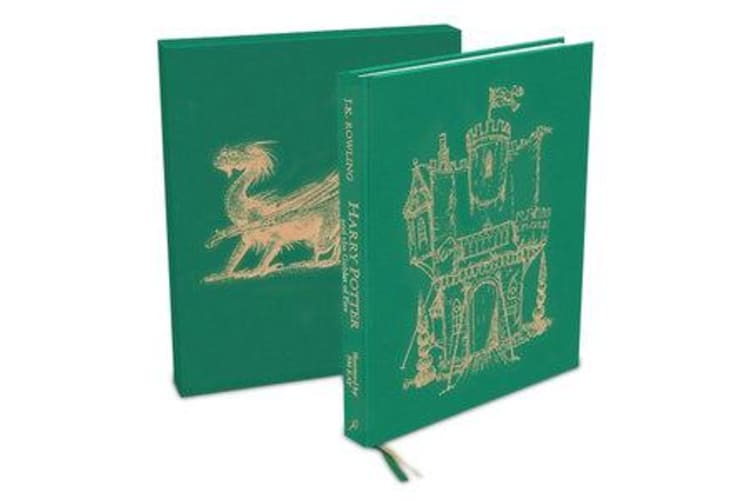 Harry Potter and the Goblet of Fire - Deluxe Illustrated Slipcase Edition