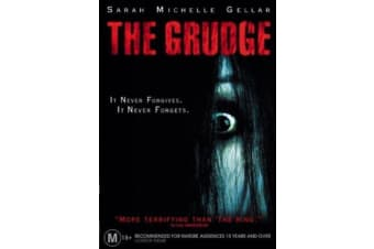 The Grudge  - Region 4 Rare- Aus Stock DVD  PREOWNED: DISC LIKE NEW