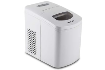POLYCOOL 2L Portable Ice Cube Maker Automatic Machine Quick Home Fridge - White
