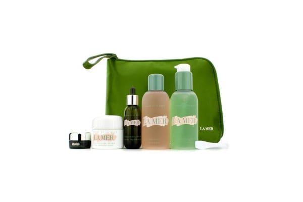 La Mer Return To Youth (Anti-Age) Collection: Cleansing Gel + Tonic + Moisturizing Cream + Serum + Eye Concentrate + Bag (5pcs+1bag)