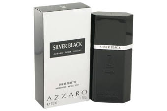 Azzaro Silver Black Eau De Toilette Spray 30ml/1oz