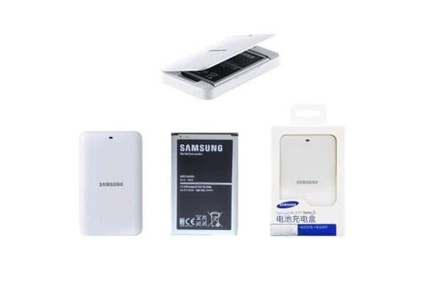 Samsung Galaxy Note 3 N9000 N9005 OEM Battery (3200mah) with NFC + Charging Dock Station ...