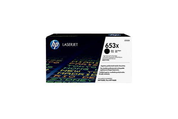 HP 653X BLACK HIGH YIELD LASERJET TONER CARTRIDGE CF320X