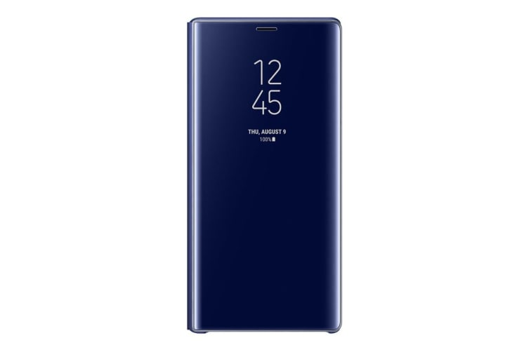 Samsung Galaxy Note 9 Clear View Standing Cover - Blue
