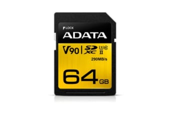 ADATA Premier One SDXC Card 64GB Class 10 UHS-11