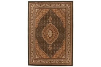 Stunning Formal Oriental Design Rug Green 290x200cm