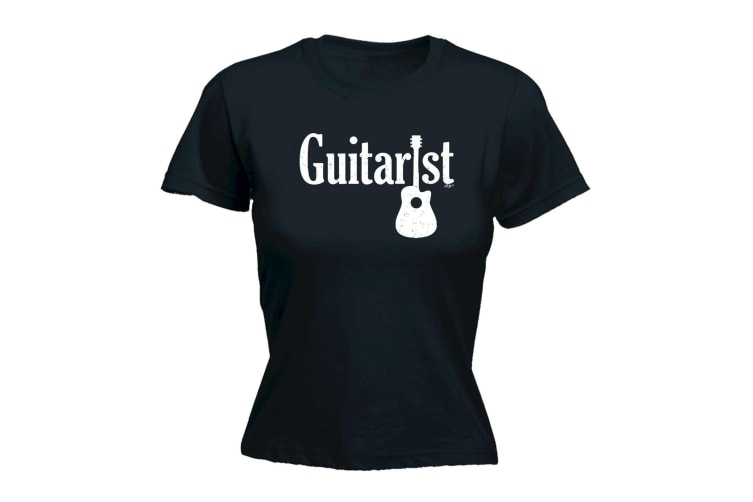 123t Music Tee - Guitarist - (XX-Large Black Womens T Shirt)