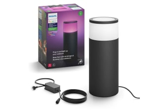 Philips Hue Outdoor Pedestal/Post Colour Ambiance Light/Lighting Extension Kit